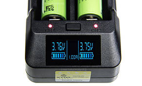 XTAR VP2 - Интеллектуальное зарядное устройство. Оригинал, фото 2