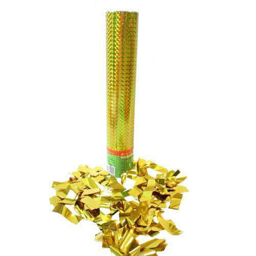 Пневмохлопушка Золотые полосы, 30 см