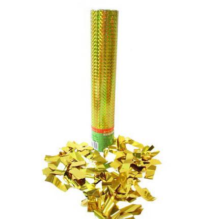 Пневмохлопушка Золотые полосы, 30 см, фото 2