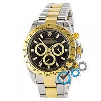 Наручные часы Rolex Daytona AAA Silver-Gold-Black B