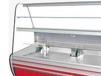 Стекло для кондитерской витрины Cold лобовое /стекла лобовые и боковые для витрины Cold \ запчасти Cold