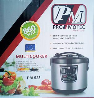 Мультиварка Promotec PM-523 на 5 литров, 11 программ (860W), фото 2