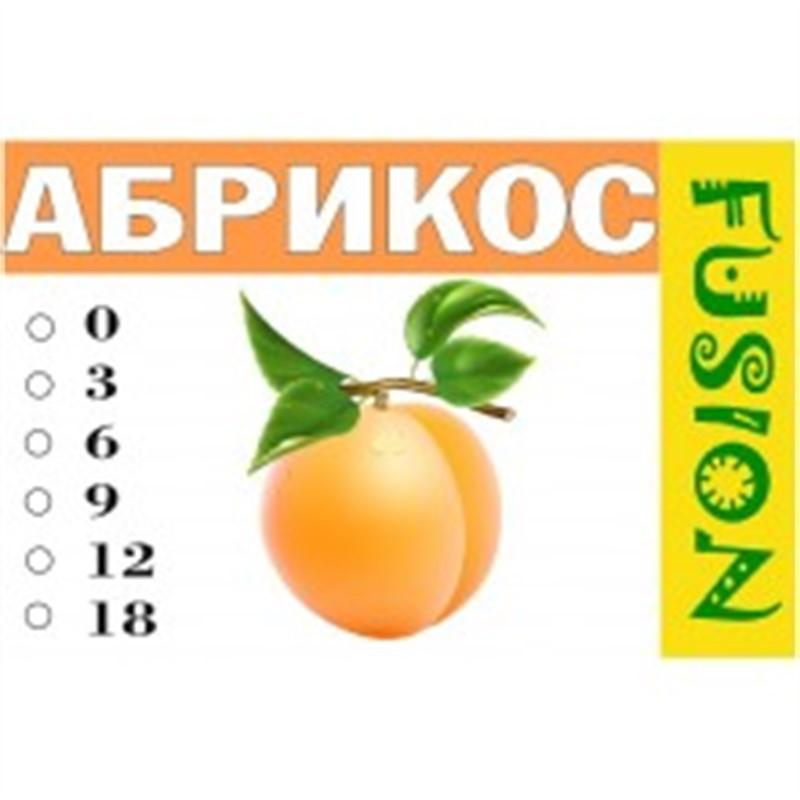 FUSION Жидкость для электронных сигарет. Фруктовые вкусы. Абрикос, 9 мг