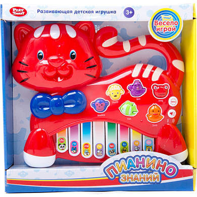 "Орган Play Smart 7657A ""Пианино знаний"" с животными"