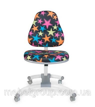 Дитячий ортопедичний стілець Comf Pro HAPPY CHAIR ДО-639 чорний зірки, фото 2