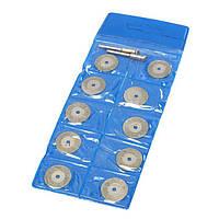 Набор дисков алмазных отрезных 30х3 мм (10 шт) 137114