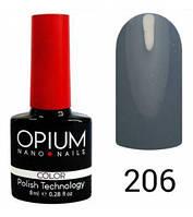 Гель-лак Opium 8 мл №206