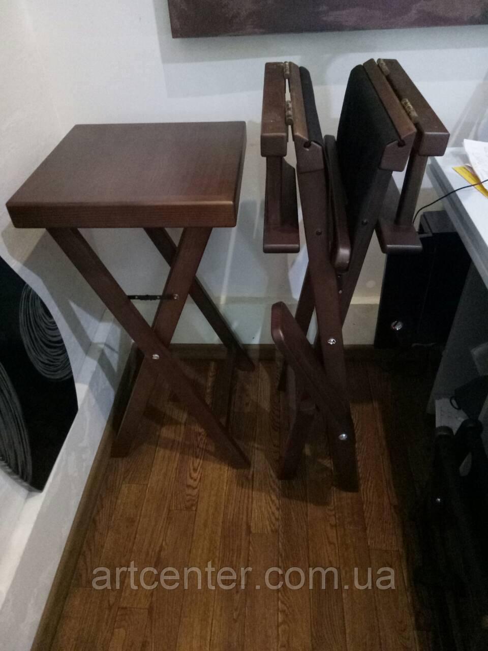 Стол кофейный, столик для кафе из дерева