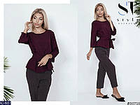 17b65cee50a8 Молодежный женский брючный костюм в Украине. Сравнить цены, купить ...