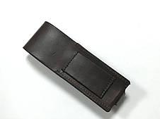 Чехол Hand Made, итальянская кожа, (15х3,5 см), фото 2