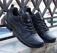 Мужские черные кожаные кроссовки Reebok Advanced 3.0  V44240 EUR 44