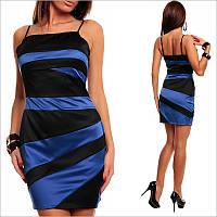 Двухцветное платье вечернее, купить стильное платье