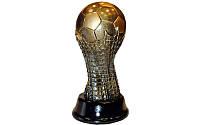Статуэтка наградная Кубок Футбольный мяч  (р-р 9*8*20см)