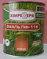 Емаль ПФ-115 коричневий (0,9кг)