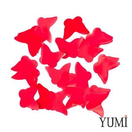 Конфетти бабочки красные, 35 мм, фото 2