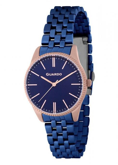 Женские наручные часы Guardo B01095(m) RgBlBl