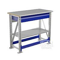 Верстак (промышленный стол) MT100.MF1/MF1.101 900(h)х1000х500 мм