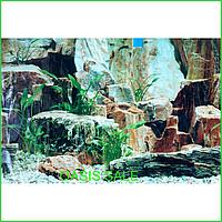 Фон №9023 для аквариума с высотой 50 см