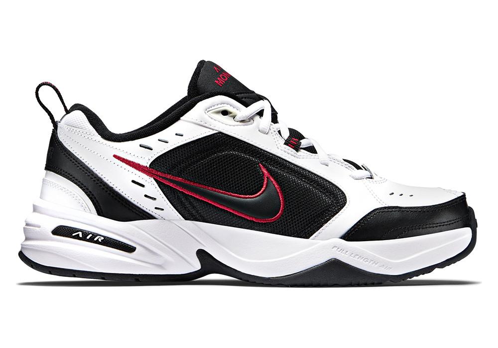 """Кроссовки Nike Air Monarch IV """"White/Black"""" (Белые/Черные)"""