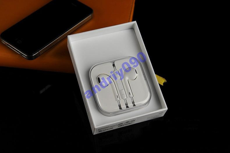 Наушники Apple IPhone 5 5S 4 4S 3S Ipod IPad БЕЛЫЕ — в Категории ... 45b672b722831