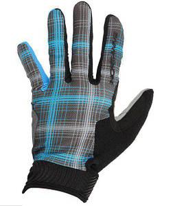 Велоперчатки NorthWave MTB Air Chequered L синий / черный