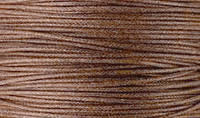 Вощенный шнур коричневый (примерно 80 м)