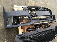 Тюнинг обвес Audi A7 в стиле RS (2011-2014)