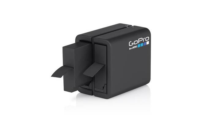 Зарядное устройство на два аккумулятора для GoPro Hero 4 + аккумулятор на 1160 mAh (оригинал), фото 2