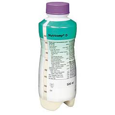 Нутрикомп Д (Диабет) Нейтральный Bbraun в пластиковой бутылке (500 мл)