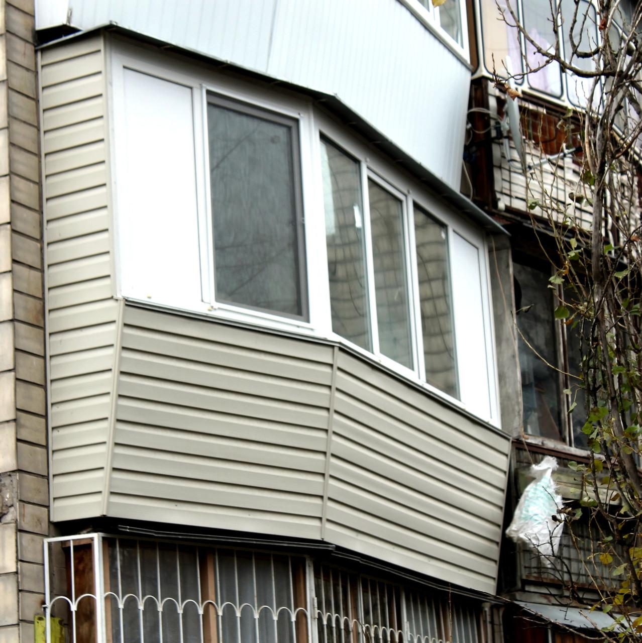 Балкон под ключ в гостинке