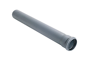 Труба канализационная ПВХ 110х1.8мм 1м