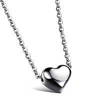 Колье стальное «Сердце», фото 1