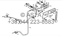 Механизм управления дросселем - устройство выключения на YTO 1254