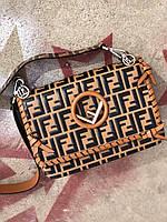 Модная сумочка FENDI  Kan I (реплика), фото 1