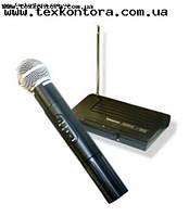 Радиомикрофон беспроводный ручной, радиосистема VHF200