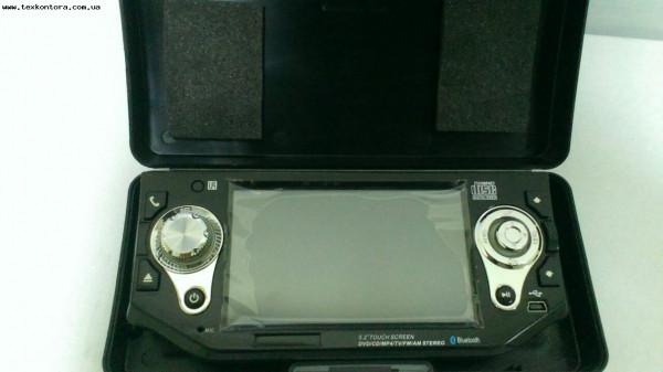 Автомобильная ДВД магнитолла 5,2 дюйма ТВ, USB, Bluetooth