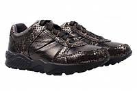 Туфли спорт Mida натуральная кожа, цвет бронза