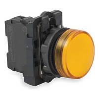 Лампа сигнальная желтая XB5AVM5