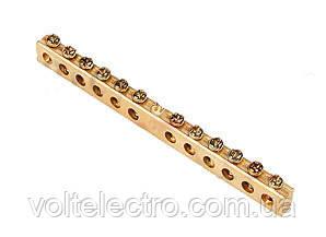 Шины заземления 10 x 15 мм (150А)