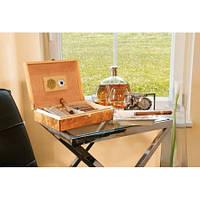 Эксклюзивная коробка для сигар с застёжкой из кедрового дерева