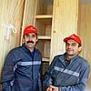 Внутренняя обшивка лоджии деревянной вагонкой