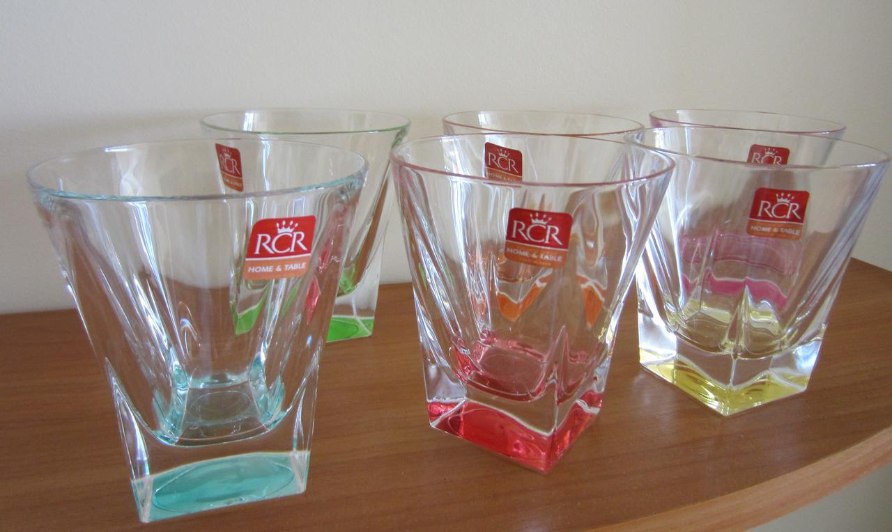 Набор цветных стаканов Fusion