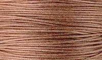 Вощенный шнур светло-коричневый (примерно 80 м)
