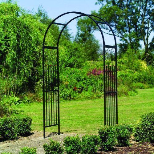 Арки для сада металлические и деревянные