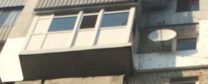 Балкон французский.
