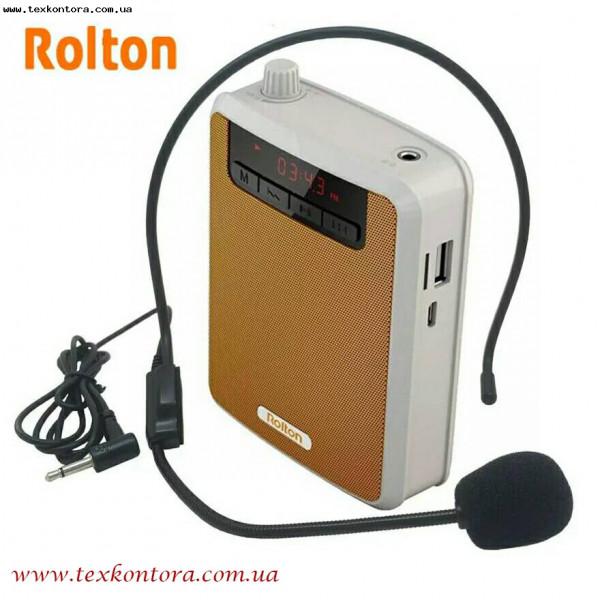 Поясной мегафон для экскурсоводов Rolton K-300