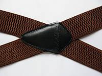 """Подтяжки """"X-усиленные"""" коричневые"""