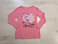 Реглан утепленный для девочек, Seagull, 6 лет,  № CSQ-52092