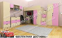 Детская мебель для девочки БАНТИК ТИНЕЙДЖЕР МДФ