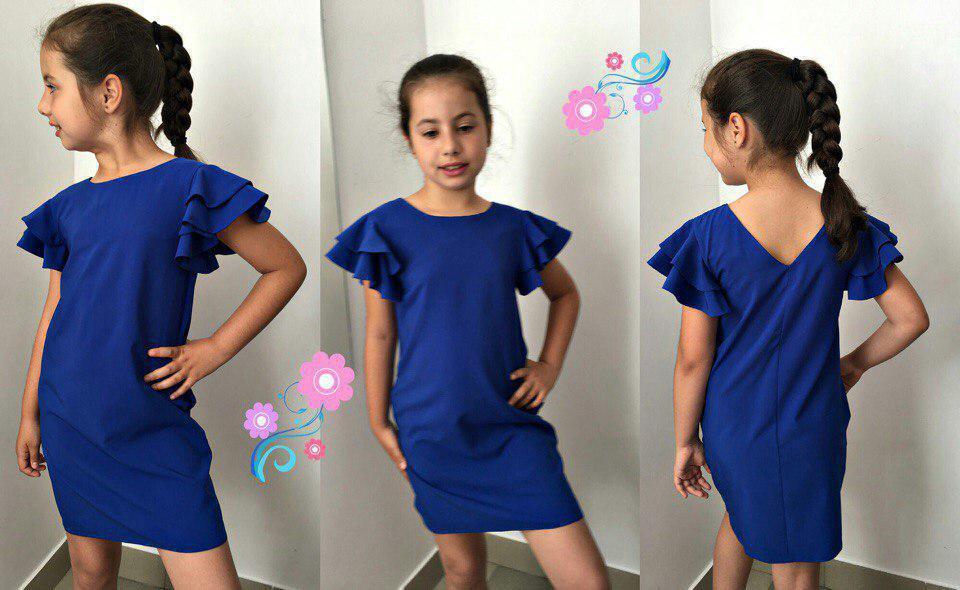 Копия  Детское стильное платье Новинка